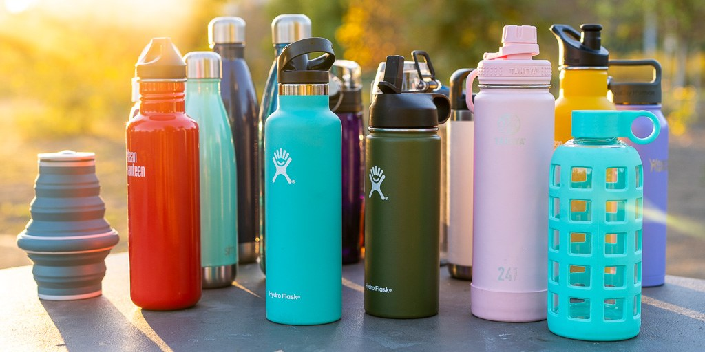 Use refillable water bottles and reusable lunch containers